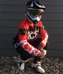 motocross gear set fctn