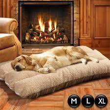 large luxury dog bed puppy pets cat cushion pillow mattress warm