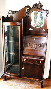 small curio cabinet with glass doors curio cabinet rare antique curio cabinet picture design chic
