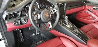 porsche macan white interior dealer inventory 2017 porsche 911 turbo white w blk u0026 bordeaux