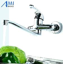 wall mount kitchen faucets with sprayer wall mounted faucet with sprayer wall mount kitchen sink faucet