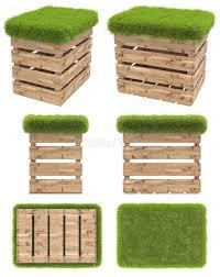 siege en palette la chaise de la boîte en bois ou de la palette avec un siège d