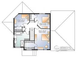 Basement Apartment Floor Plans Multi Family Plan W3717 V1 Detail From Drummondhouseplans Com