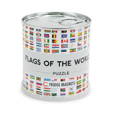 Flag Of The World Channeldistribution Flags Of The World City Puzzle Magnets