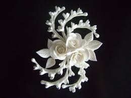 wedding hair clip white hair clip wedding hair bridal hair fascinator