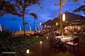 eight degrees south at conrad bali resort bali indonesia com