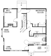 2 bedroom 1 bath house plans 1087 square 2 bedrooms 1 batrooms on 1 levels floor plan