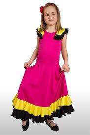 kids flamenco dress colors girls spanish dance