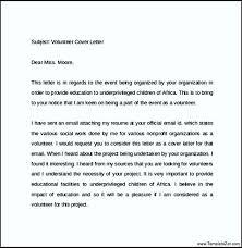 food pantry volunteer cover letter