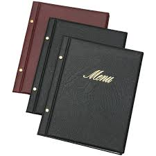 Menu Covers Wholesale Shop For Restaurant Menu Covers Free Delivery Australia Wide