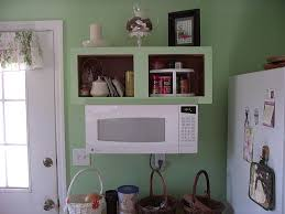 Kitchen Cabinets Space Savers by Under Cabinet Microwave Light Gray Kitchen With Under Cabinet