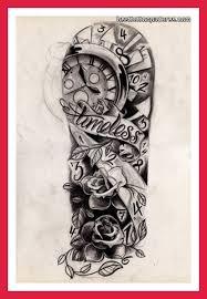 half sleeve tattoos for black and grey half sleeve