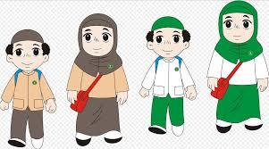 film kartun anak sekolah kartun anak muslim lucu kolek gambar