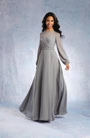 sleeved bridesmaid dresses alfred angelo 7327l sleeve bridesmaid gown novelty