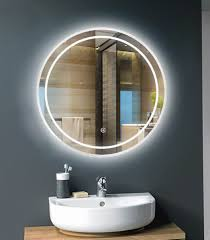 bathroom cabinets small infinity mirror table mirror with lights