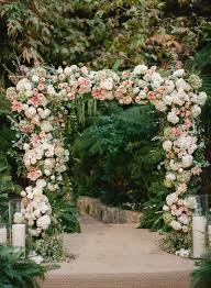 flower arch all out looks a something like this california