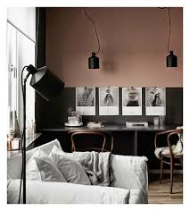 Dusty Pink Bedroom - monday interior inspiration pink walls i want that