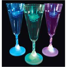 new years chagne flutes happy new year led chagne flutes with spiral stem goimprints