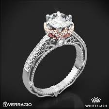 crown diamond rings images Verragio afn 5052 4 6 prong crown diamond engagement ring 3170 jpg