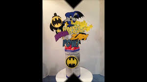batman centerpieces cricut cartridge batman superman centerpieces 1