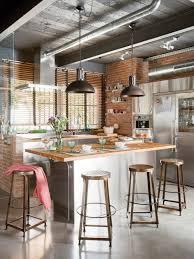 cuisine style industriel loft les 25 meilleures id es concernant tag res de cuisine sur