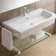 trough sink with 2 faucets double faucet trough bathroom sink large size of steel vessel