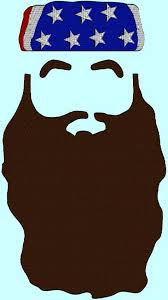beard template for duck dynasty party pin the beard on willie