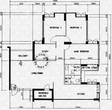 schematic floor plan floor plans for anchorvale road hdb details srx property