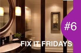 interior design bathroom fix it fridays 6 youtube