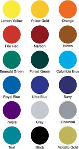 list of color ink colors car magnet ink logo magnet