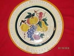 stangl pottery terra vintage stangl pottery terra fruit 6 plate made in usa
