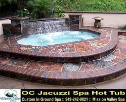 Backyard Design For Inground Hot Tub Spa OC Jacuzzi Spa Hot Tubs - Backyard spa designs