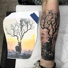 581 best deer hunting tattoo ideas images on pinterest tattoos