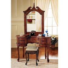 Vintage Vanity Table Bedroom Furniture Sets Wood Makeup Vanity Vintage Vanity Set