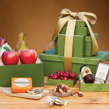 gourmet gift orchard gourmet gift tower the fruit company