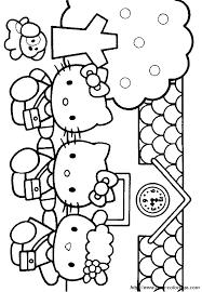 coloriage hello kitty les petites histoires de sophie