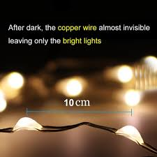 Decorative Lights For Homes Amazon Com Amir Solar Powered String Lights 8 Lighting Modes 100
