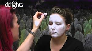 ghost face paint halloween ghost face paint tutorial youtube
