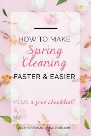 Spring Cleaning Hacks 10 Spring Cleaning Hacks To Make It Faster U0026 Easier All Things