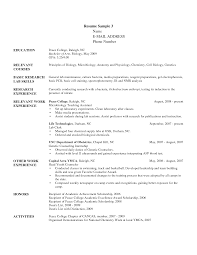 Sample Counselor Resume Useful Resume For Summer Camp Counselor For Best Camp Counselor