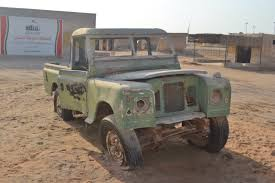 old land rover truck inside ras al khaimah u0027s ghost town the velvet rocket