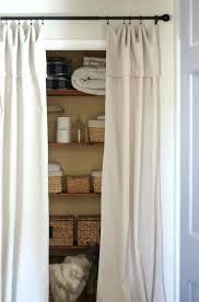 Shower Curtain For Closet Door Closet Curtains As Closet Doors Curtain Closet Doors Design Home