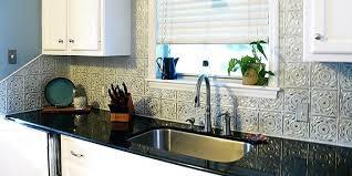 easy kitchen backsplash easy kitchen designs from tin backsplash tiles tin