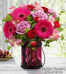 pink bouquet the ftd pink exuberance bouquet by better homes and gardens