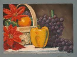 New Paint by Fine Art Pastel Still Life Drawing Greg Blaeuer New Paint Along