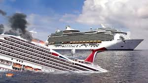 carnival paradise cruise ship sinking bombardment of the carnival magic was so swift and ferocious that it