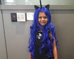 Pony Halloween Costume Girls Nightmare Moon Etsy
