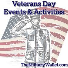 2017 veterans day free activities events attractions