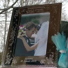 cadre photo mariage cadre mariage et anniversaire mariage personnalisé amikado
