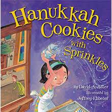 hanukkah cookies hanukkah cookies with sprinkles pj library